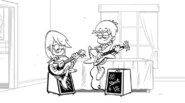 Luna and Sam storyboard