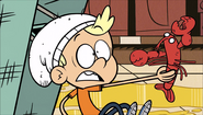 S1E18B Bratty Kid holding lobster