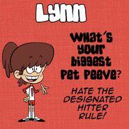 Lynn Q&A Pet Peeve