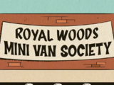 Royal Woods Mini Van Society