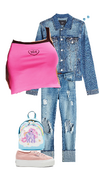 Girly School Outfit 1