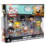 The Loud House Figure 8 Pack - Lincoln, Clyde, Lori, Lily, Leni, Lucy, Lisa, Luna - Action Figure Toys from The Nickelodeon TV Show 7