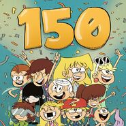The Loud House Instagram 150k Followers