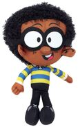 Nickelodeon The Loud House Clyde 8-Inch Plush