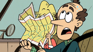 S03E01 Rita looking at map