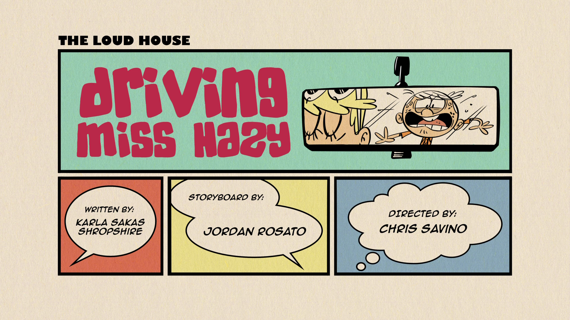 Driving Miss Hazy The Loud House Encyclopedia Fandom Powered By