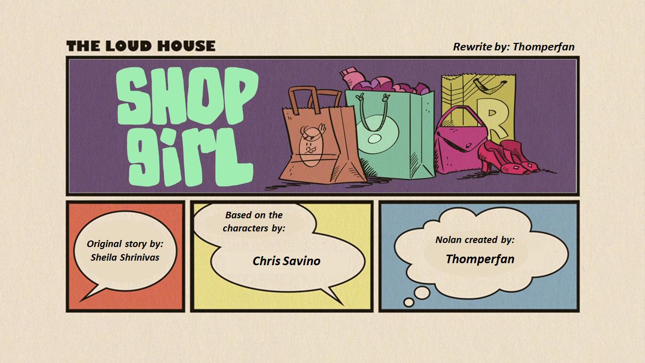 User blog:Thomperfan/Shop Girl (my version) | The Loud House
