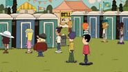 S03 E12B People in Lines for the Port-a-Potties