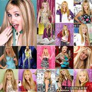 Hannah Montana collage