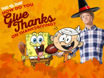 How do you give thanks on Thanksgiving