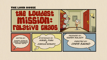 The loud house Temporada 02 Capitulo 13 -  Caos familiar