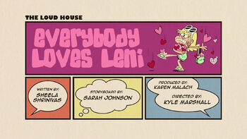 The loud house Temporada 03 Capitulo 19A - Todos aman a Leni