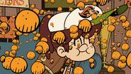S4E14A Raining cheese puffs