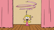 S03E12A Lola performing her ribbon dance