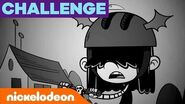 The Spooky Lucy Challenge ☠️ The Loud House Nick