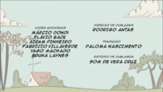 Creditos de doblaje The Loud House PTBR (S109-2)