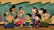 CS1E05A The Casagrande family cheer on CJ after the show