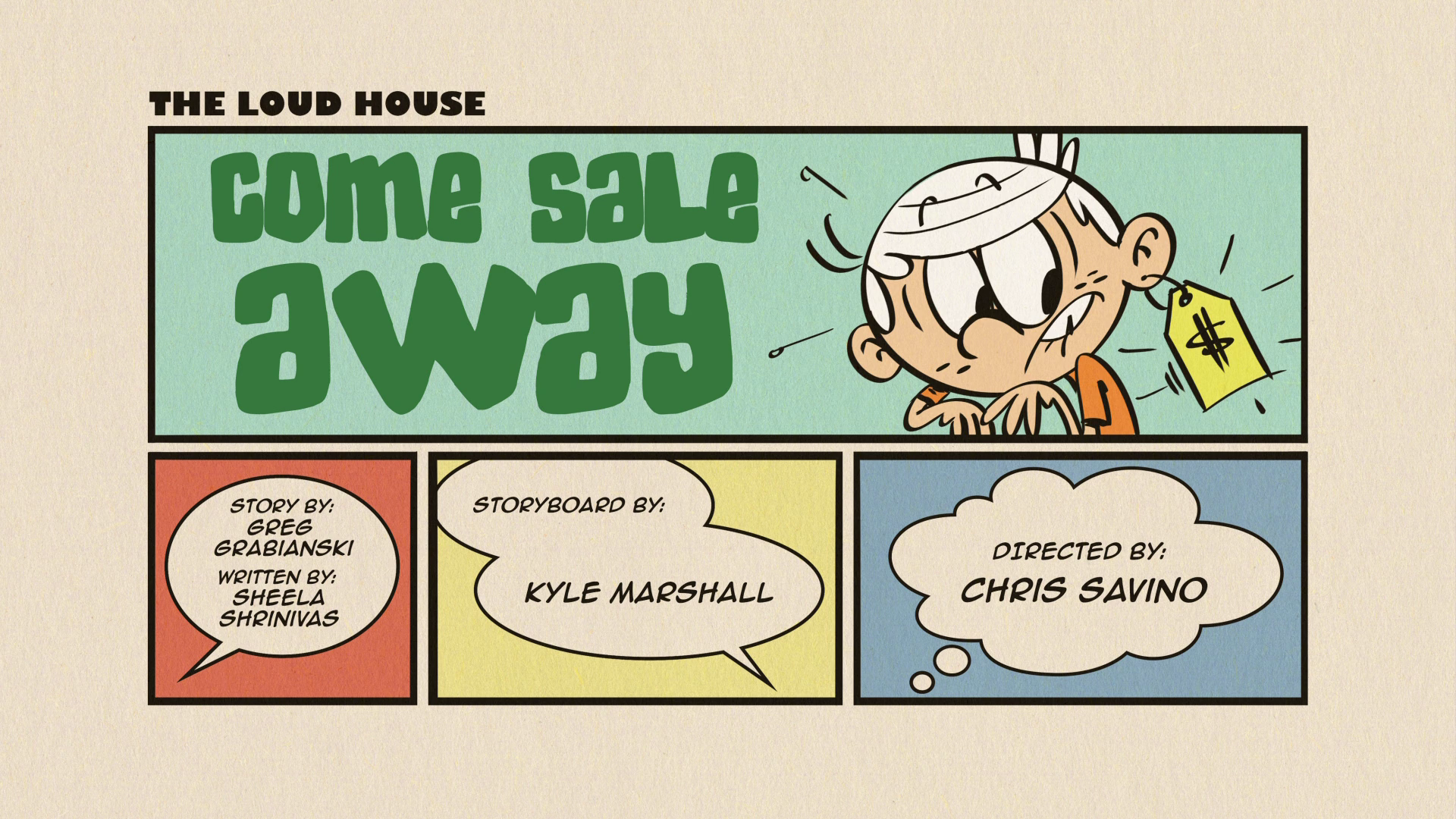 loud house come sail away full episode