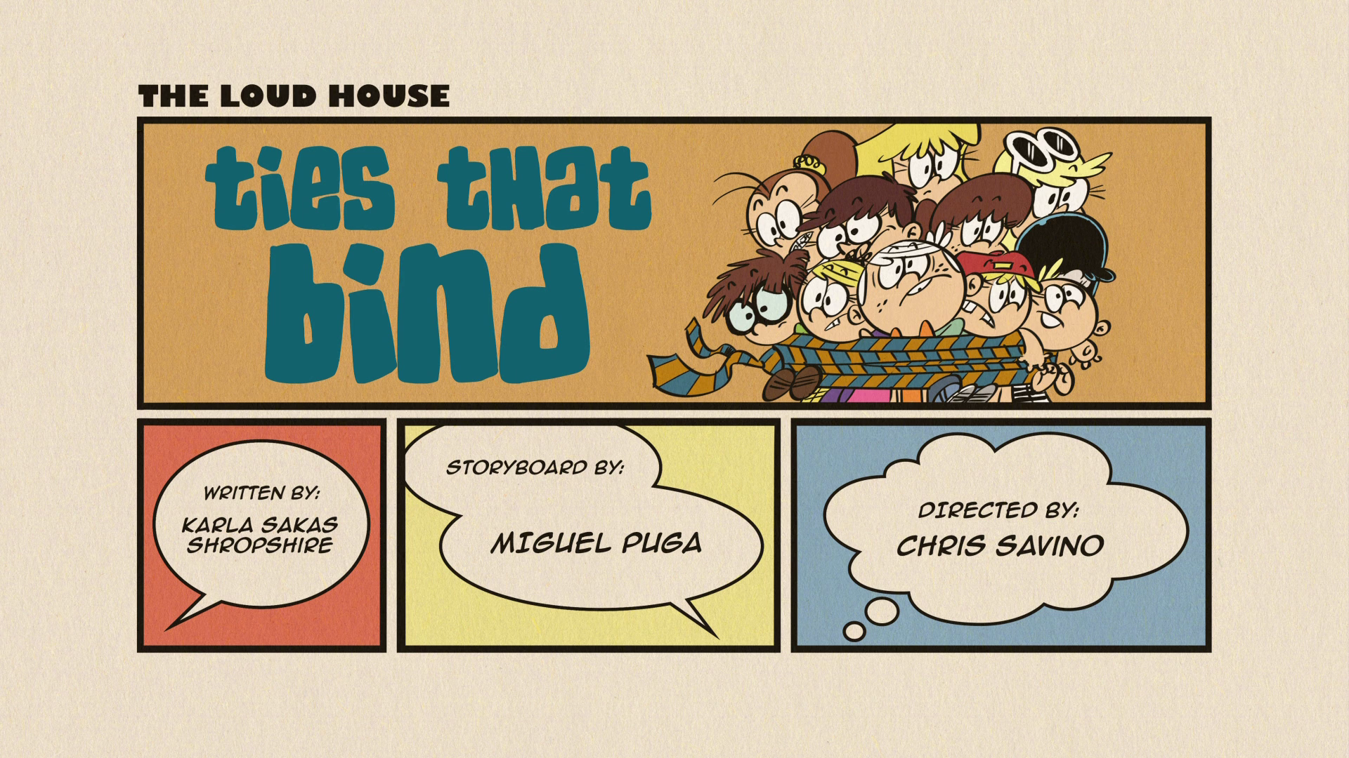 Ties That Bind | The Loud House Encyclopedia | FANDOM