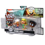 The Loud House Figure 4 Pack - Lincoln, Clyde, Lisa, Lori - Action Figure Toys from The Nickelodeon TV Show 5