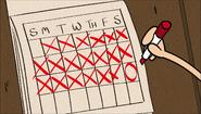 S1E09A Lincoln's calendar