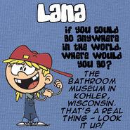 Lana Q&A Travel