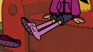 S4E03A Ronnie Anne takes her shoes off