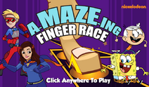A-MAZE-ING Finger Race