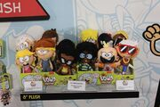 The loud house plush toys