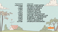 Creditos de doblaje The Loud House PTBR (S318-1)
