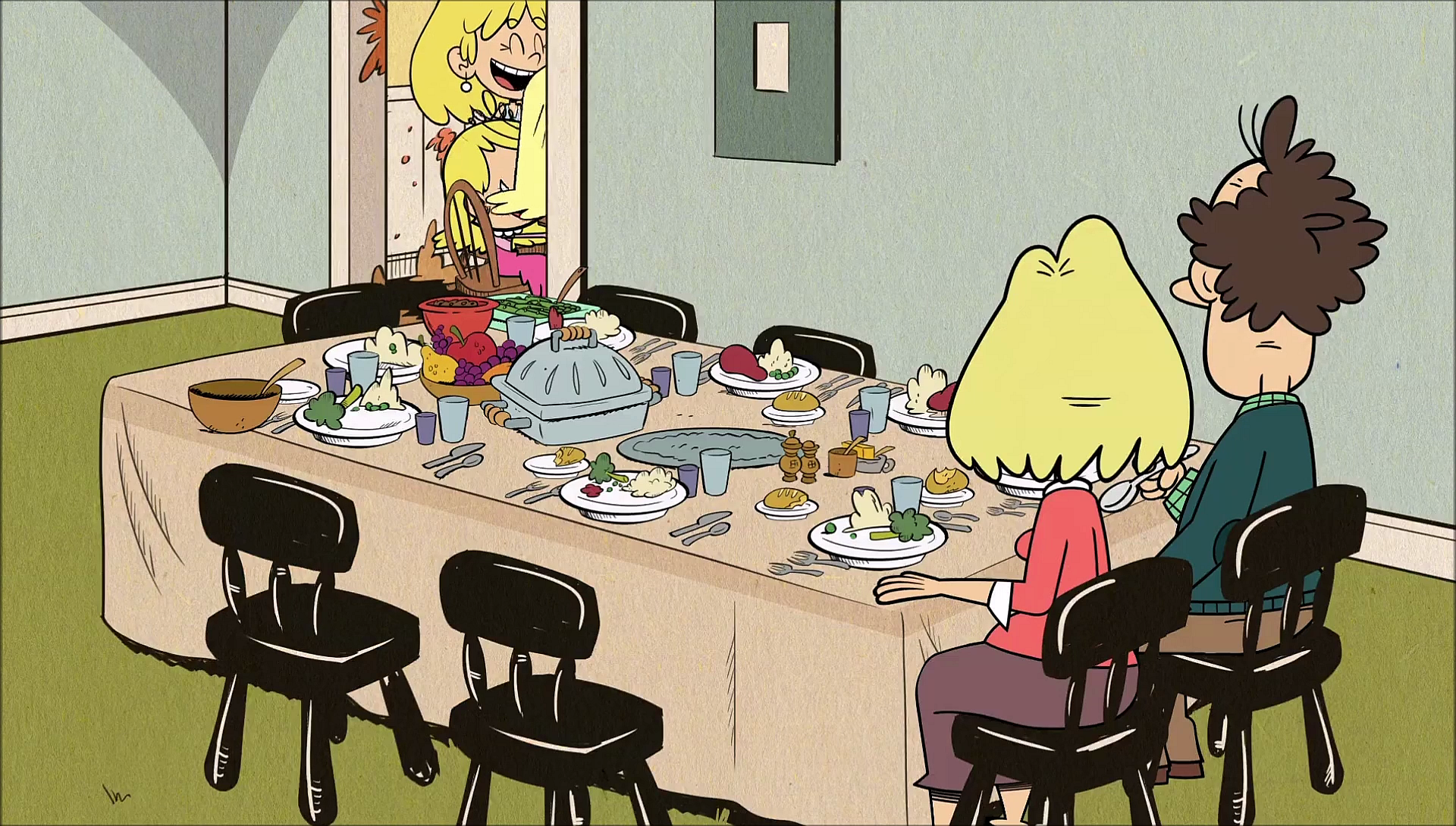 Image - S1E04B Parents alone at grownup table.png | The ...