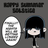Lucy Summer Solstice
