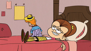 S3E25A Luan laying on her Bed