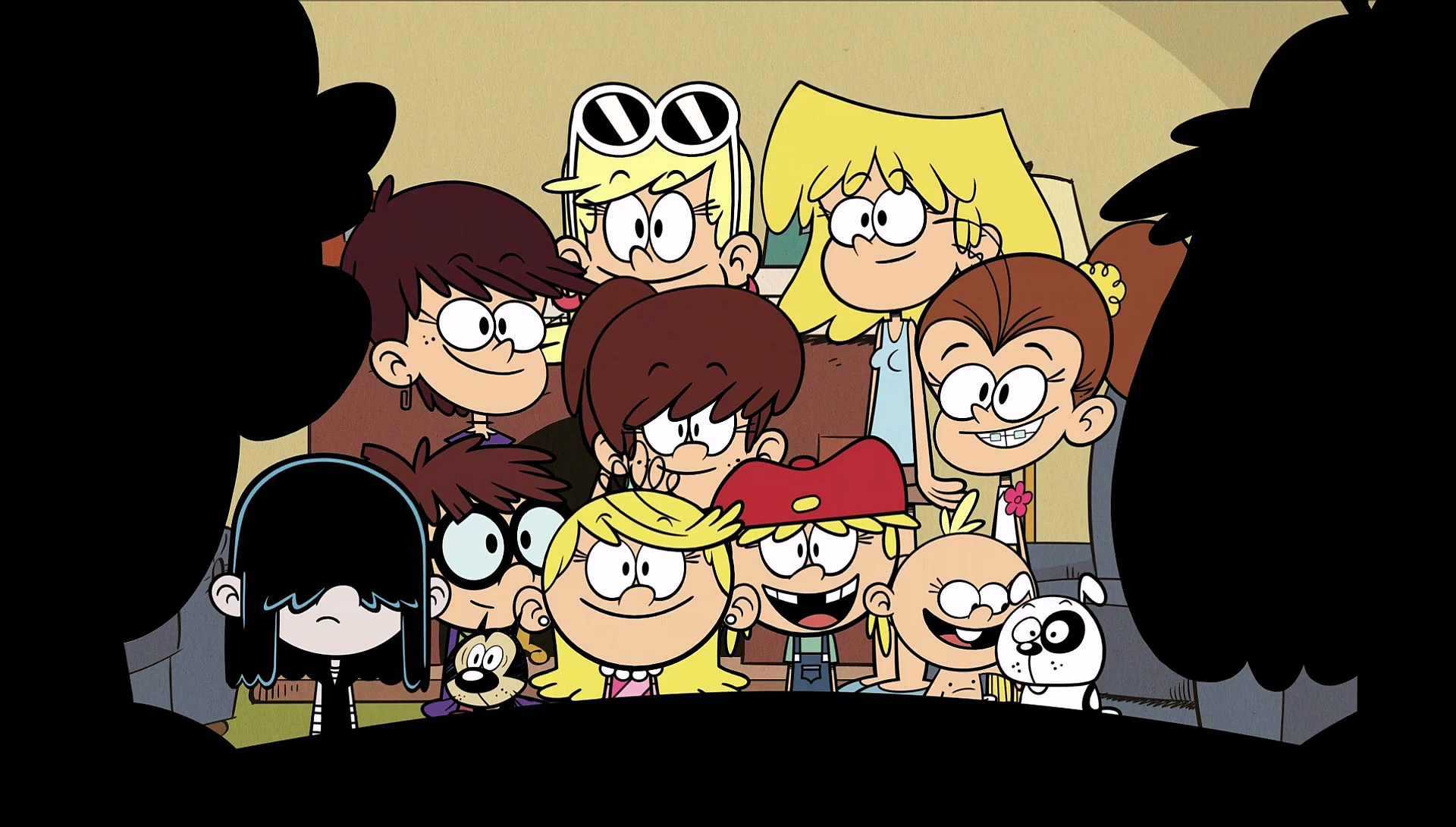 The Loud House Sisters: S1E07A Loud Sisters Are Thanked By Rita And Lynn