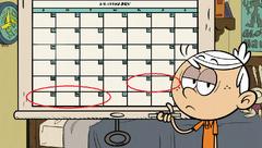 Error del calendario