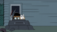 S4E11B Lincoln and Clyde peeking