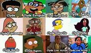 Diferentes Clydes
