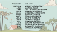 Creditos de doblaje The Loud House PTBR (S107-1)
