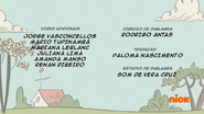 Creditos de doblaje The Loud House PTBR (S122-2)