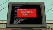 S3E03A Catastrophic error
