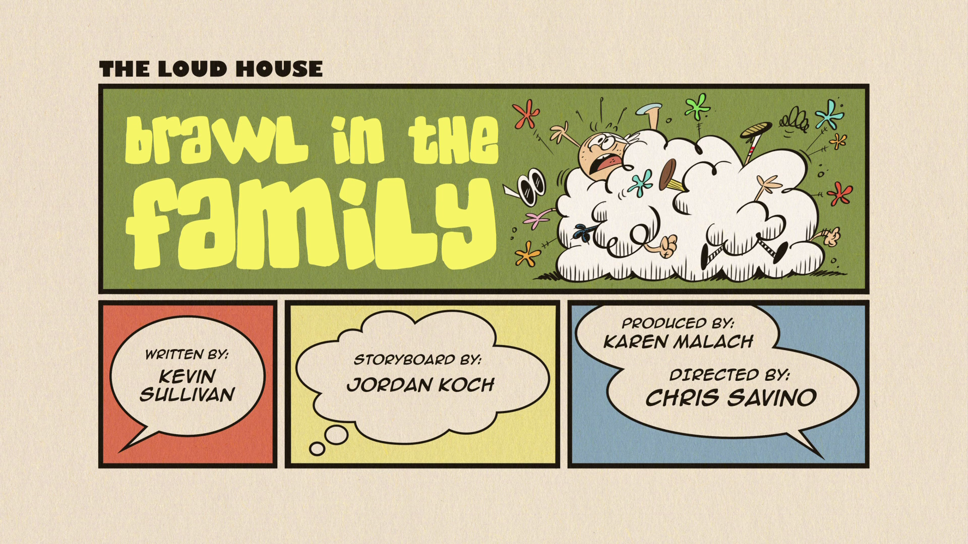 Brawl In The Family The Loud House Encyclopedia Fandom Powered
