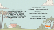Creditos de doblaje The Loud House PTBR (S318-2)