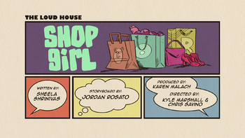 The loud house Temporada 03 Capitulo 11B - Chica de compras