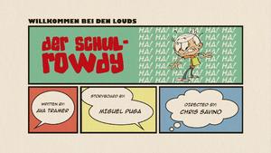 Der Schul-Rowdy