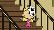 S1E11A Lola hit with a ball