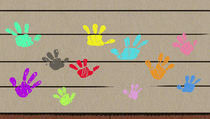 S1E26B Loud sibling handprints