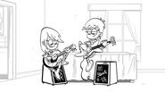 Papan cerita Luna dan Sam