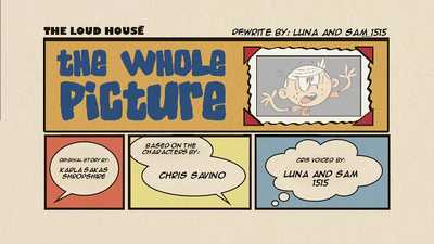 The Whole Picture (Re-written) Title Card