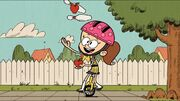 S1E10A young Luan on unicycle