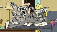 S2E18B Lynn Sr. and Rita reading the newspapers